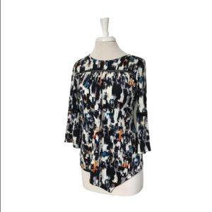 New Directions Petite Multicolor Top Size: PS